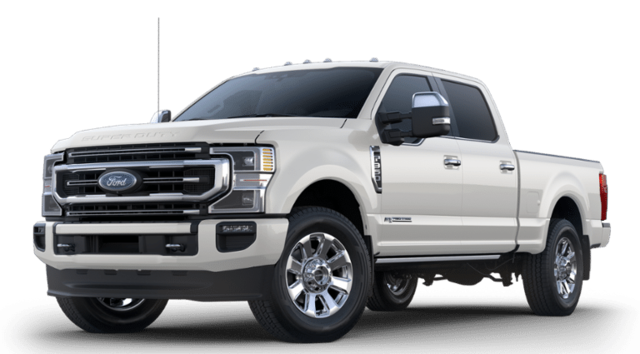 2020 Ford F-350 Platinum Crew Cab 4x4 6.8 ft SB Pickup Truck